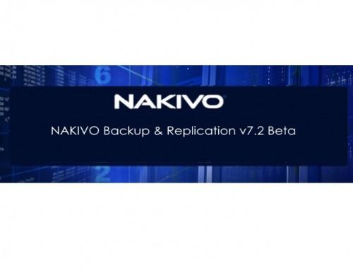 NAKIVO Backup & Replication v7.2 Beta