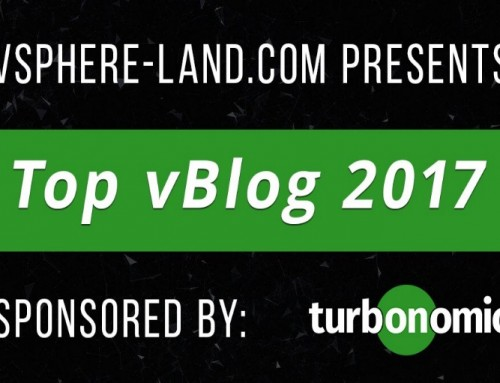 Top vBlog 2017 results has been released!