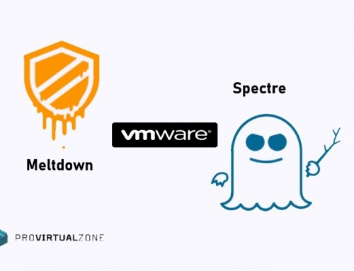 VMware launch patch Spectre & Meltdown