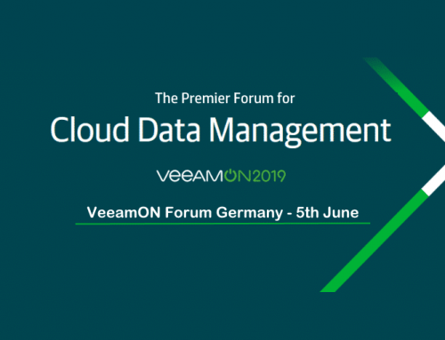VeeamON Forum Germany on the 5th of June