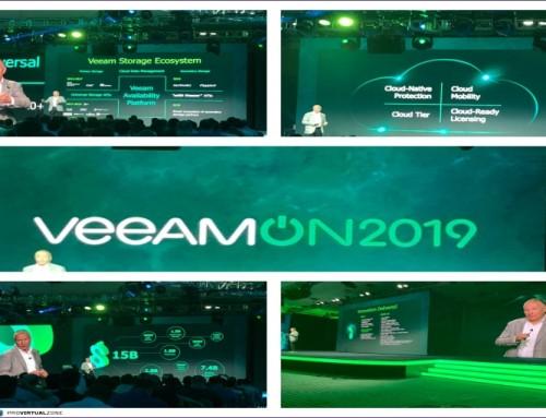 VeeamON 2019 my recap