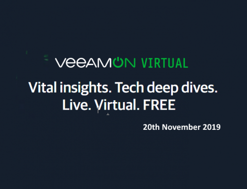 VeeamON Virtual 2019 on 20th November