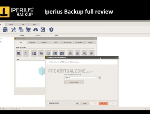 Iperius Backup a Full review