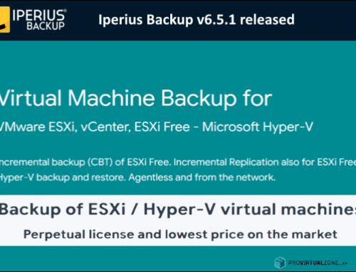 Iperius Backup v6.5.1 released