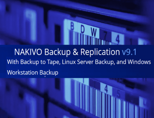 NAKIVO Backup & Replication v9.1 released
