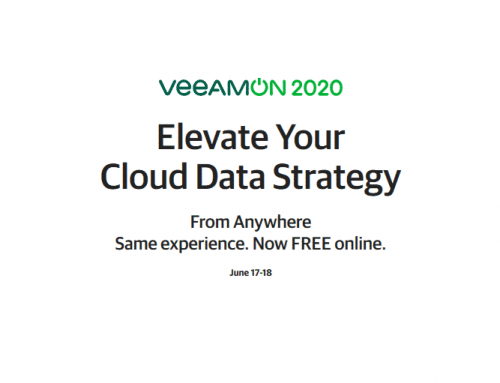 VeeamON 2020 is Online and Free