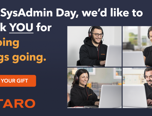 This SysAdmin Day WIN with Altaro!