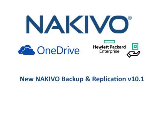 New NAKIVO Backup & Replication v10.1