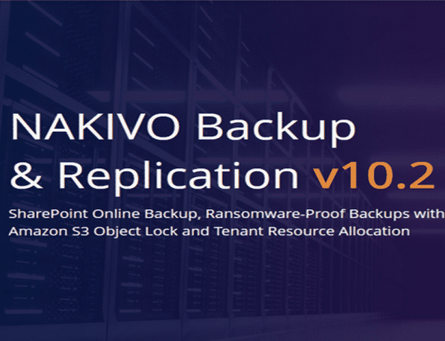 New NAKIVO Backup & Replication v10.2 with Ransomware-Proof Backups