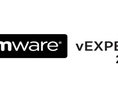 Awarded VMware vExpert 2021