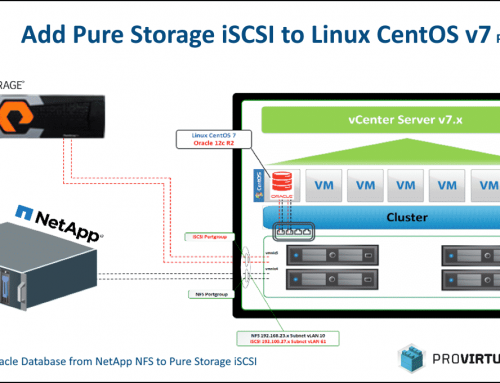 Add Pure Storage iSCSI to Linux CentOS – Part 1