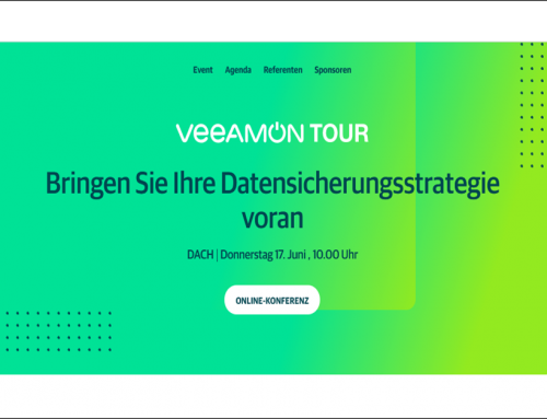 VeeamON Tour Germany on 17th June