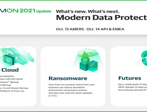 VeeamON 2021 Update online event is coming